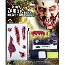DIY Zombie Halloween Costume Idea - Makeup Kit
