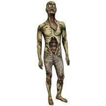 DIY Zombie Halloween Costume Idea - Morphsuit