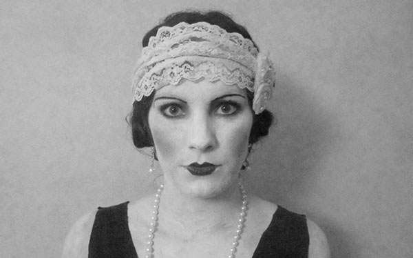 DIY Silent Movie Costume