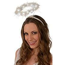 DIY Angel Halloween Costume Idea - Halo