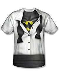 DIY Batman Halloween Costume Idea - Bruce Wayne Shirt