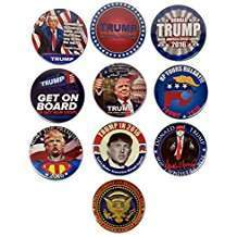 DIY Donald Trump Halloween Costume Idea - Buttons