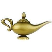 DIY Halloween Costume Idea - Aladdin Genie Lamp