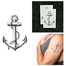 DIY Halloween Costume Idea - Anchor Tattoo