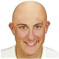 DIY Halloween Costume Idea - Bald Cap