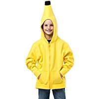 DIY Halloween Costume Idea - Banana Hoodie