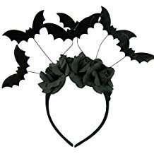 DIY Halloween Costume Idea - Bat Headband