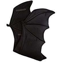 DIY Halloween Costume Idea - Bat Wings