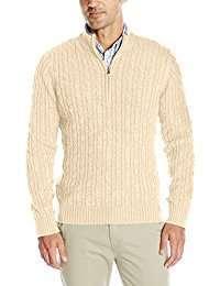 DIY Halloween Costume Idea - Beige Knit Sweater