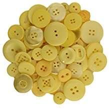 DIY Halloween Costume Idea - Big Yellow Buttons