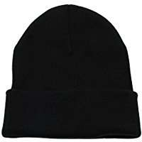 DIY Halloween Costume Idea - Black Beanie