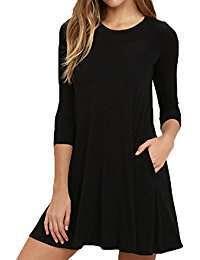 DIY Halloween Costume Idea - Black Dress