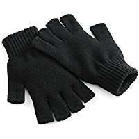 DIY Halloween Costume Idea - Black Fingerless Gloves