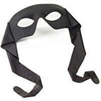 DIY Halloween Costume Idea - Black Half Mask