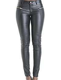 DIY Halloween Costume Idea - Black Leather Pants