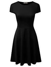 DIY Halloween Costume Idea - Black Skater Dress