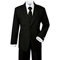 DIY Halloween Costume Idea - Black Suit