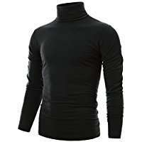 DIY Halloween Costume Idea - Black Turtleneck M