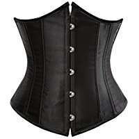 DIY Halloween Costume Idea - Black Underbust Corset