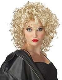DIY Halloween Costume Idea - Blond Curly Wig