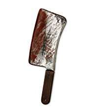 DIY Halloween Costume Idea - Bloody Cleaver