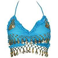 DIY Halloween Costume Idea - Blue Belly Dance Tops