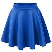 DIY Halloween Costume Idea - Blue Skirt