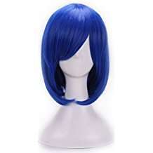 DIY Halloween Costume Idea - Blue Wig