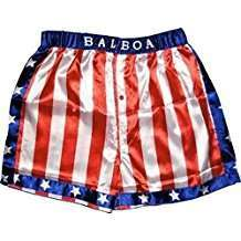 DIY Halloween Costume Idea - Boxing Shorts