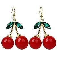 DIY Halloween Costume Idea - Cherry Earrings