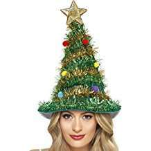 DIY Halloween Costume Idea - Christmas Tree Hat