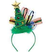 DIY Halloween Costume Idea - Christmas Tree Headband