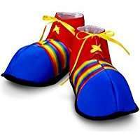 DIY Halloween Costume Idea - Clown Shoes