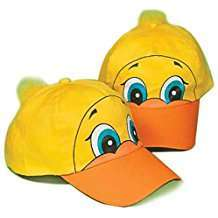 DIY Halloween Costume Idea - Duck Hat