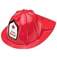 DIY Halloween Costume Idea - Fire Fighter Hat