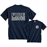 DIY Halloween Costume Idea - Fire Fighter Shirts
