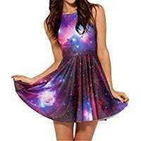 DIY Halloween Costume Idea - Galaxy Dress