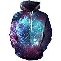 DIY Halloween Costume Idea - Galaxy Hoodie
