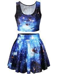 DIY Halloween Costume Idea - Galaxy Set