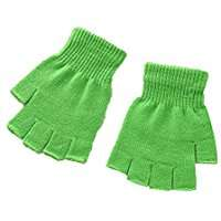 DIY Halloween Costume Idea - Green Fingerless Gloves