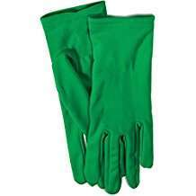 DIY Halloween Costume Idea - Green Gloves