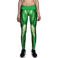 DIY Halloween Costume Idea - Green Muscle Leggings