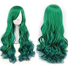DIY Halloween Costume Idea - Green Wig