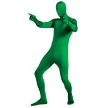 DIY Halloween Costume Idea - Green Zentai