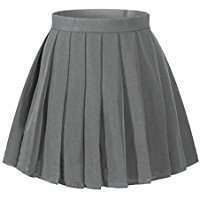 DIY Halloween Costume Idea - Grey Pleated Skirt