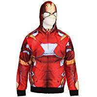 DIY Halloween Costume Idea - Ironman Hoodie