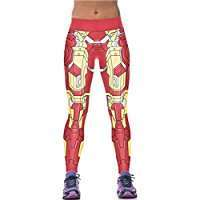 DIY Halloween Costume Idea - Ironman Leggings