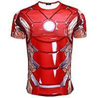 DIY Halloween Costume Idea - Ironman Shirt