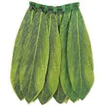 DIY Halloween Costume Idea - Leaf Hula Skirt