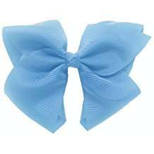 DIY Halloween Costume Idea - Light Blue Bow